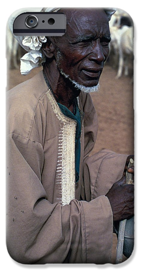 Turban IPhone 6 Case featuring the photograph Nomad In Senegal by Carl Purcell