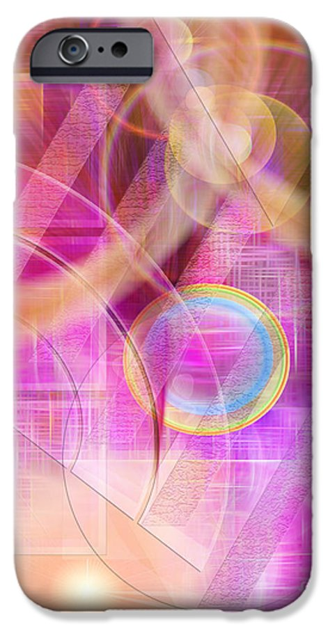 Northern Lights IPhone 6 Case featuring the digital art Northern Lights by John Beck