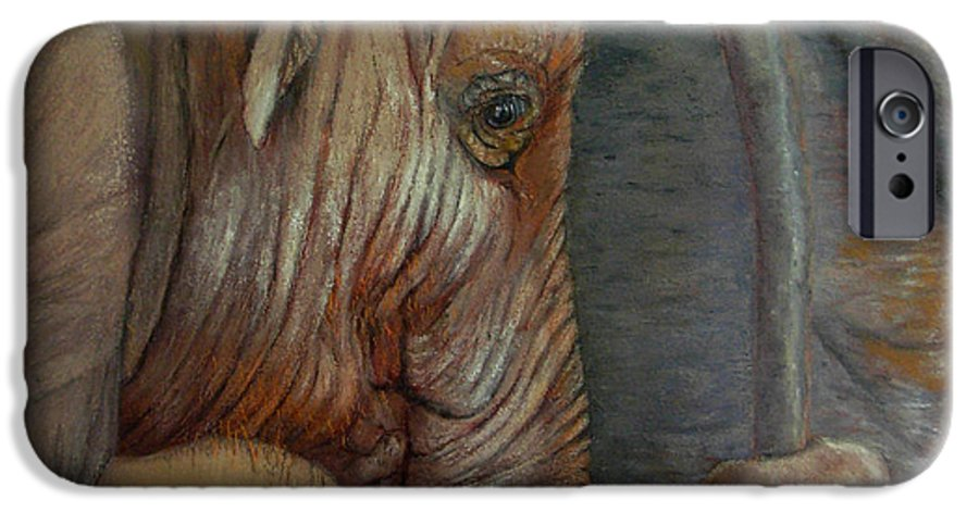 Africa IPhone 6 Case featuring the painting Now You Hold On Tight by Ceci Watson