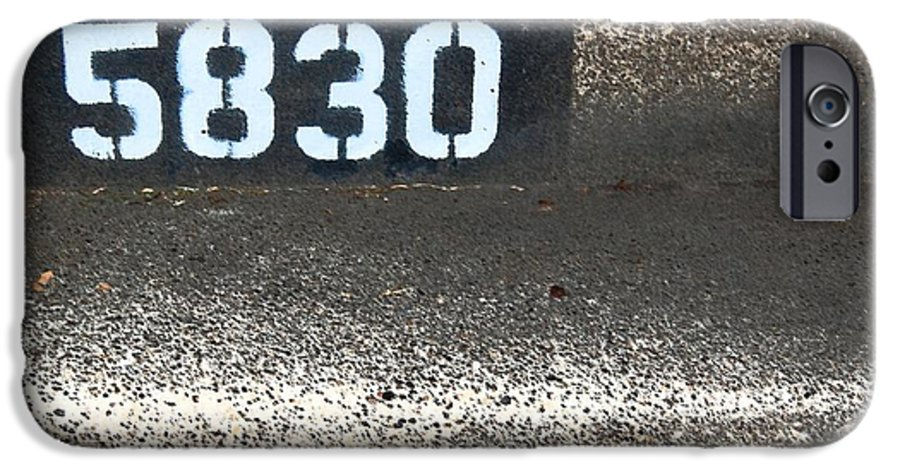 Numbers IPhone 6 Case featuring the photograph Numbers by Debbi Granruth