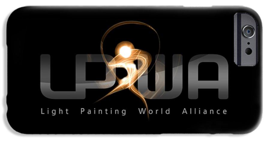 Lpwa IPhone 6 Case featuring the photograph Official Lpwa Logo by Sergey Churkin