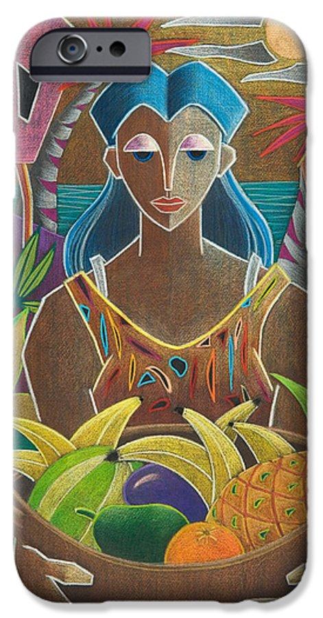Female IPhone 6 Case featuring the painting Ofrendas De Mi Tierra by Oscar Ortiz