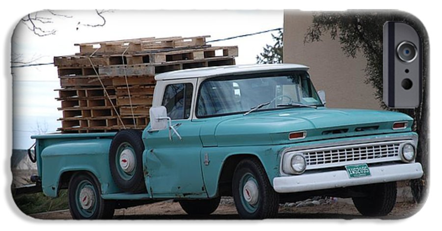 Old Truck IPhone 6 Case featuring the photograph Old Chevy by Rob Hans