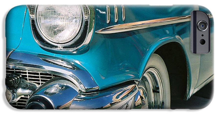 Chevy IPhone 6 Case featuring the photograph Old Chevy by Steve Karol