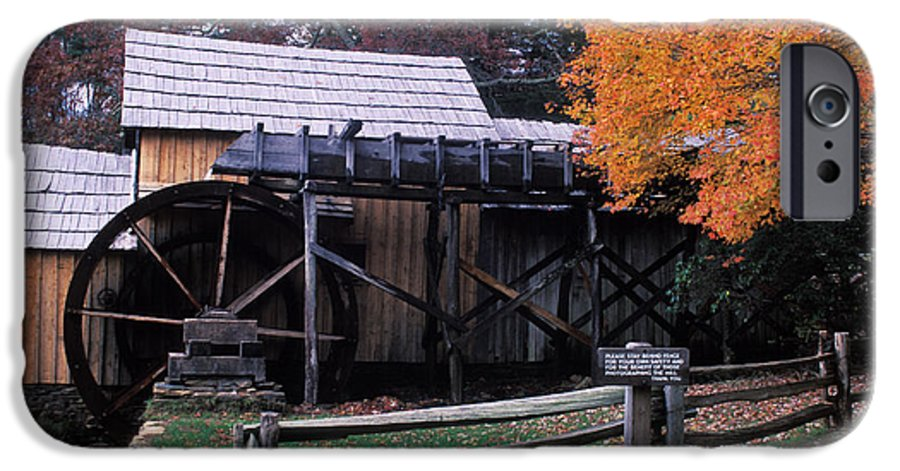 Waterwheel IPhone 6 Case featuring the photograph Old Mill In Virginia by Carl Purcell
