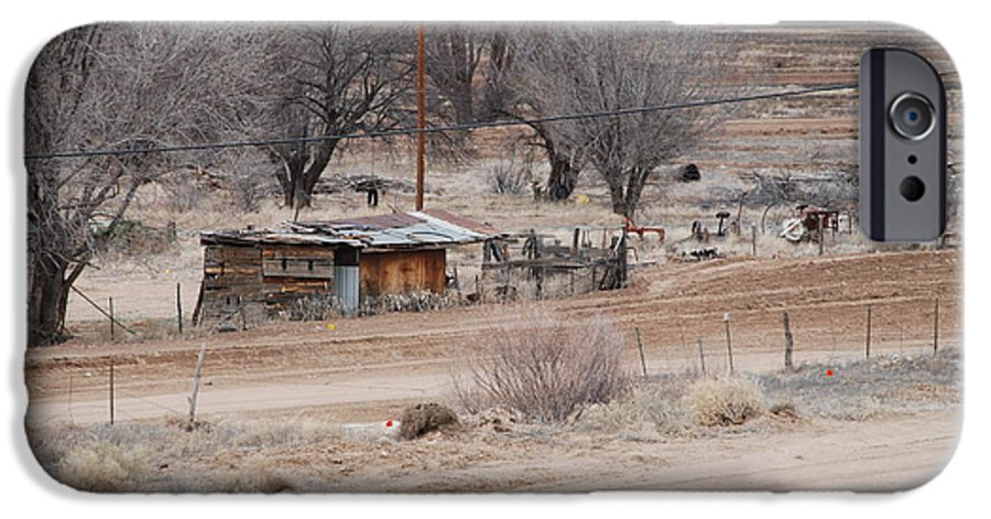 House IPhone 6 Case featuring the photograph Old Ranch House by Rob Hans