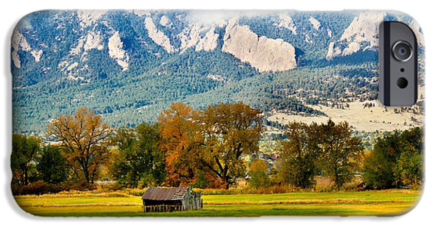 Rural IPhone 6 Case featuring the photograph Old Shed by Marilyn Hunt