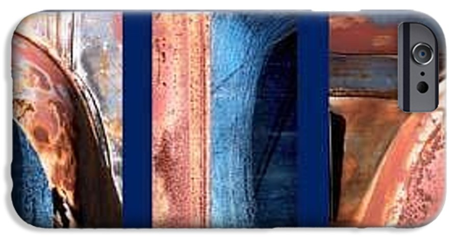 Abstract IPhone 6 Case featuring the photograph Ole Bill by Steve Karol
