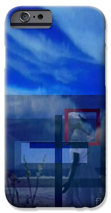 Inspirational IPhone 6 Case featuring the digital art On Bended Knees by Brenda L Spencer