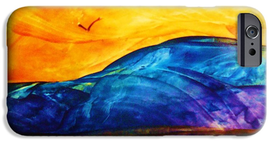 Landscape IPhone 6 Case featuring the painting One Fine Day by Melinda Etzold