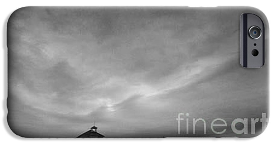 Landscape IPhone 6 Case featuring the photograph One Room Schoolhouse by Michael Ziegler