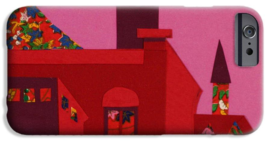 Opera House IPhone 6 Case featuring the mixed media Opera House by Debra Bretton Robinson