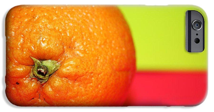 Oranges IPhone 6 Case featuring the photograph Orange by Linda Sannuti