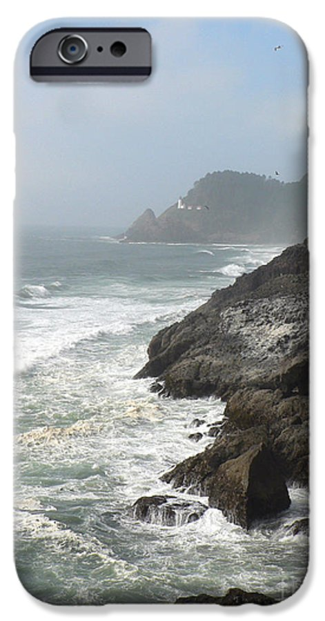 Pacific IPhone 6 Case featuring the photograph Oregon Coast by Larry Keahey