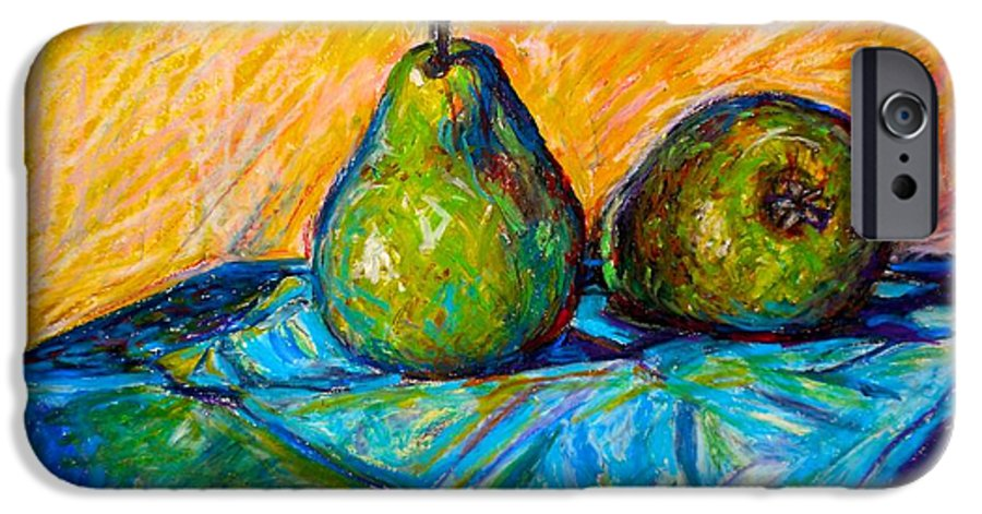Still Life IPhone 6 Case featuring the painting Other Pears by Kendall Kessler