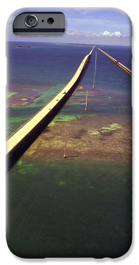 U.s. 1 IPhone 6 Case featuring the photograph Overseas Highway by Carl Purcell
