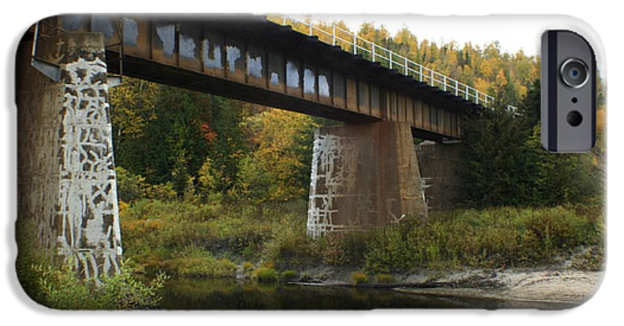 Bridge IPhone 6 Case featuring the photograph Pack River Bridge by Idaho Scenic Images Linda Lantzy