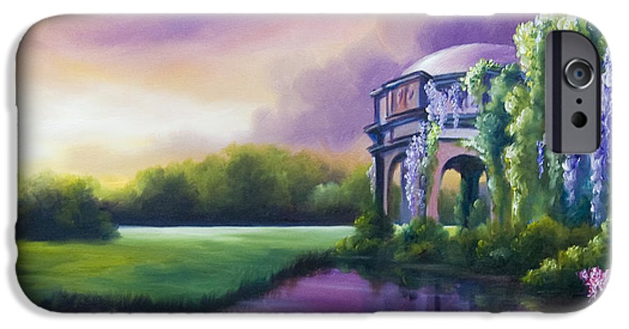 Marsh IPhone 6 Case featuring the painting Palace Of The Arts by James Christopher Hill