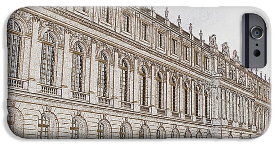 France IPhone 6 Case featuring the photograph Palace Of Versailles by Amanda Barcon