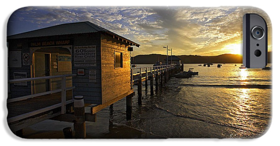 Palm Beach Sydney Australia Sunset Water Pittwater IPhone 6 Case featuring the photograph Palm Beach Sunset by Sheila Smart Fine Art Photography