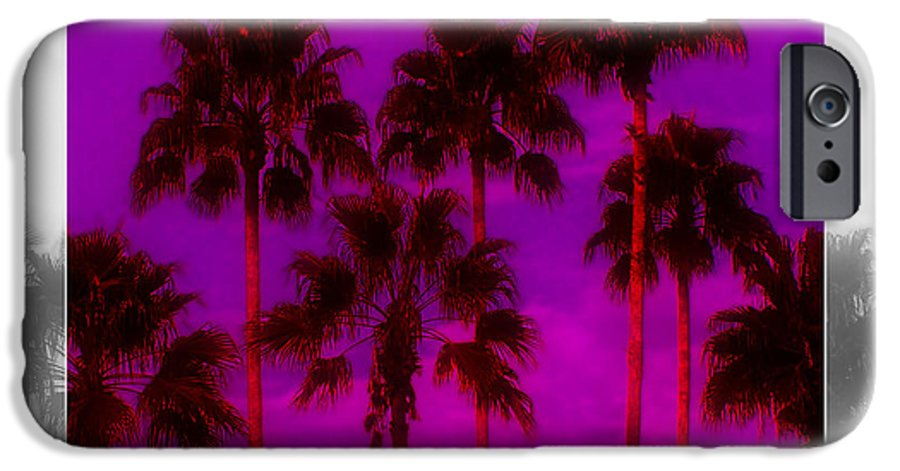Palm IPhone 6 Case featuring the photograph Palm Tree Heaven by Kenneth Krolikowski