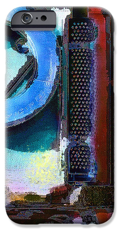 Abstract IPhone 6 Case featuring the photograph panel one from Centrifuge by Steve Karol