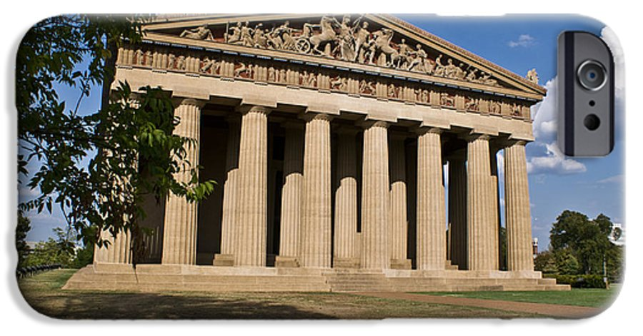 Parthenon IPhone 6 Case featuring the photograph Parthenon Nashville Tennessee by Douglas Barnett