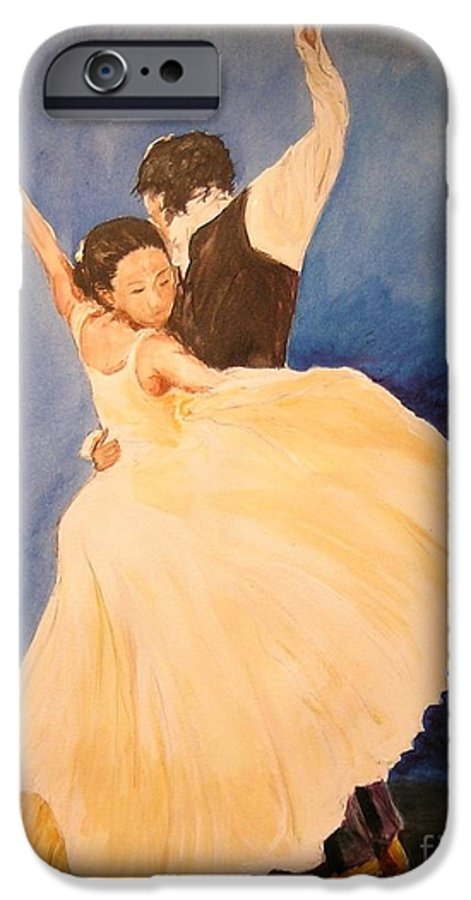 Spain IPhone 6 Case featuring the painting Pasion Gitana by Lizzy Forrester