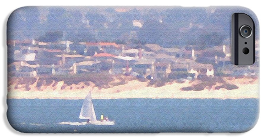 Sailing IPhone 6 Case featuring the photograph Pastel Sail by Pharris Art