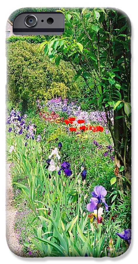 Claude Monet IPhone 6 Case featuring the photograph Path To Monet's House by Nadine Rippelmeyer