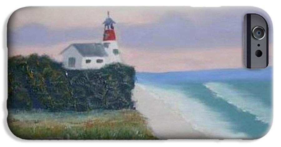 Seascape IPhone 6 Case featuring the painting Peace Sold by R B