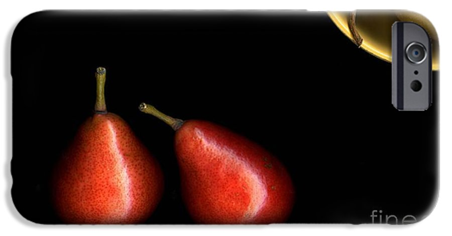 Pears IPhone 6 Case featuring the photograph Pears And Bowl by Christian Slanec