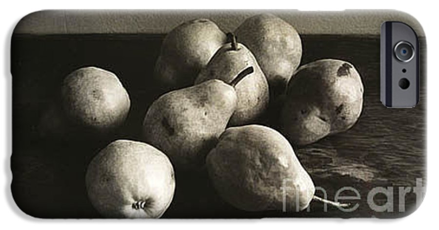 Pears IPhone 6 Case featuring the photograph Pears by Michael Ziegler