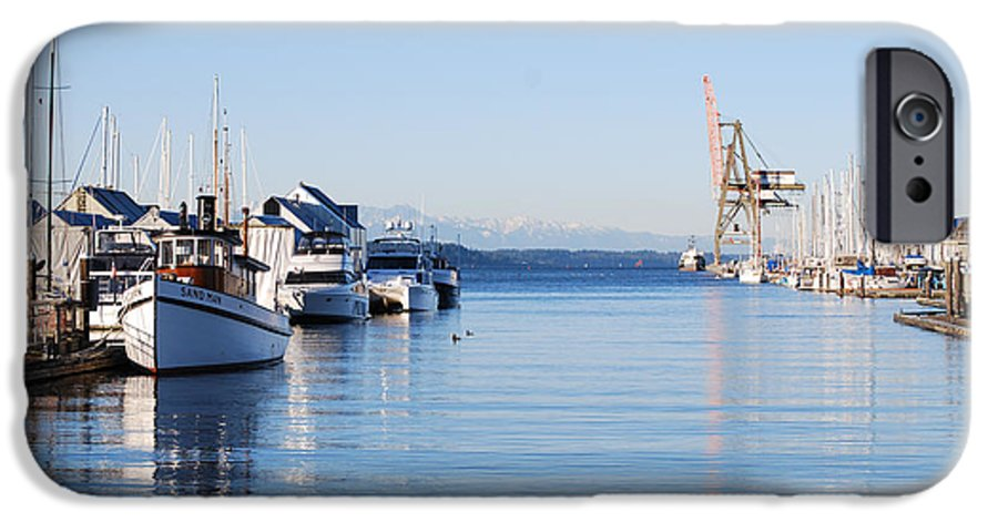Olympia IPhone 6 Case featuring the photograph Percival Landing by Larry Keahey