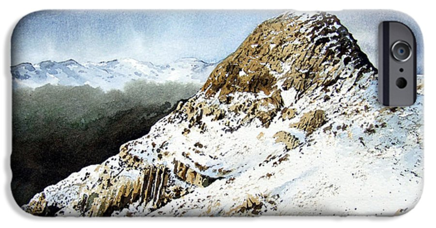 Pike O' Stickle IPhone 6 Case featuring the painting Pike O' Stickle by Paul Dene Marlor