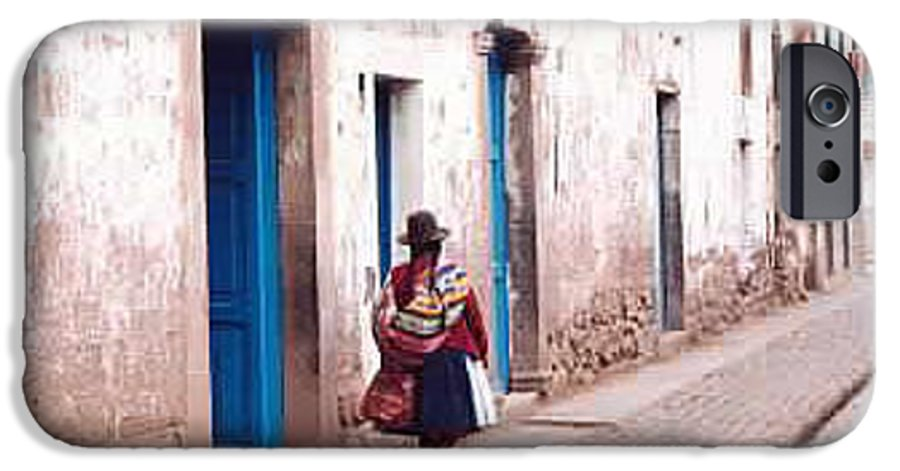 Peru IPhone 6 Case featuring the photograph Pisaq Woman by Kathy Schumann
