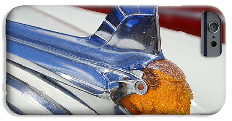 Pontiac IPhone 6 Case featuring the photograph Pontiac Hood Ornament by Larry Keahey
