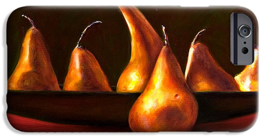 Still Life IPhone 6 Case featuring the painting Port Au Pear by Shannon Grissom