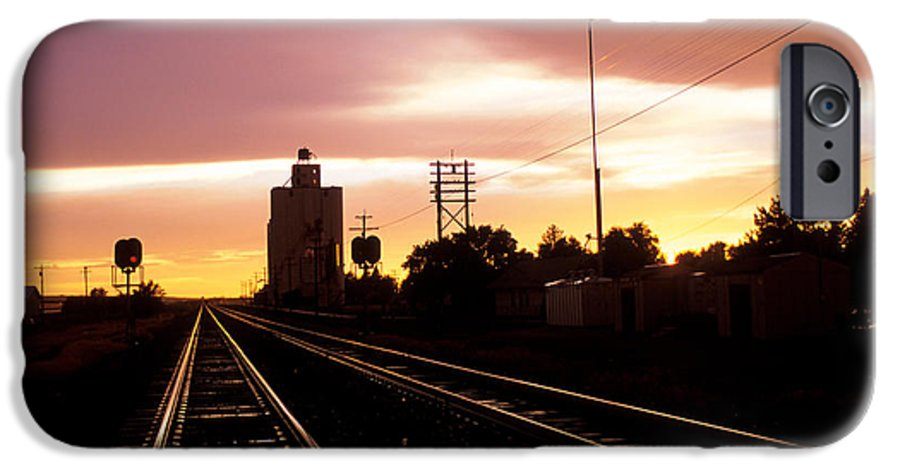 Potter IPhone 6 Case featuring the photograph Potter Tracks by Jerry McElroy