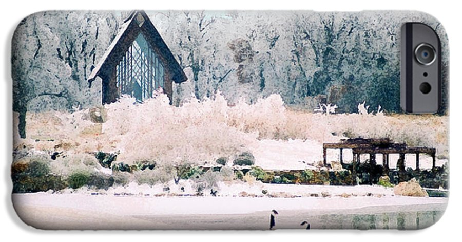 Landscape IPhone 6 Case featuring the photograph Powell Gardens Chapel by Steve Karol
