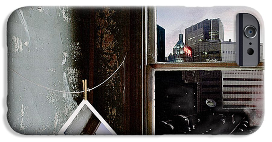Window IPhone 6 Case featuring the photograph Pre-visualization by Peter J Sucy