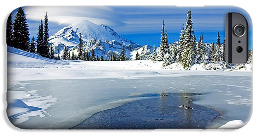 Rainier IPhone 6 Case featuring the photograph Pristine by Mike Dawson