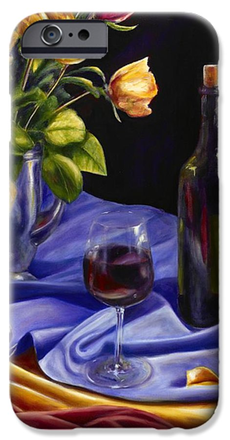 Still Life IPhone 6 Case featuring the painting Private Label by Shannon Grissom