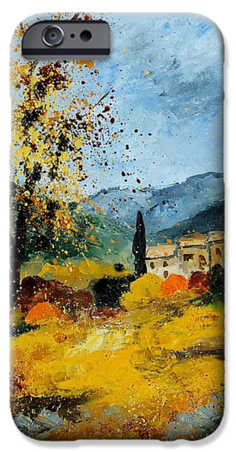Provence IPhone 6 Case featuring the painting Provence 45 by Pol Ledent