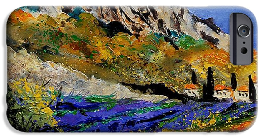 Flowers IPhone 6 Case featuring the painting Provence 560908 by Pol Ledent