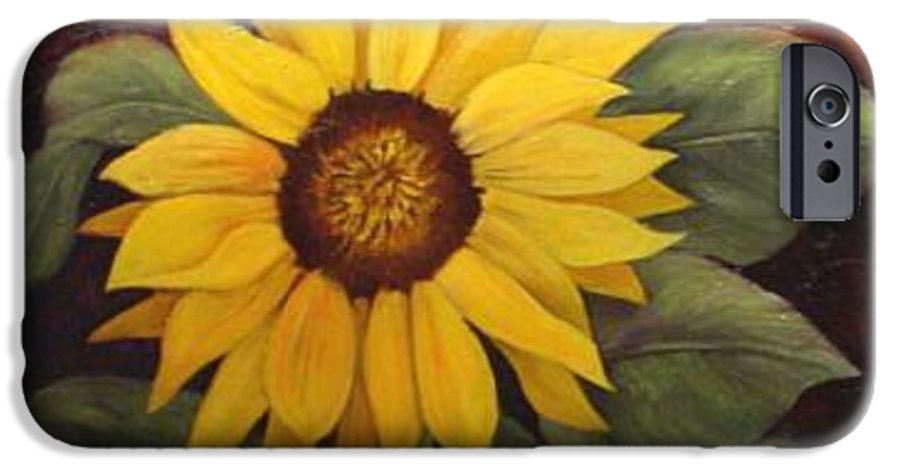 Still Life IPhone 6 Case featuring the painting Pure Sunshine Sold by Susan Dehlinger