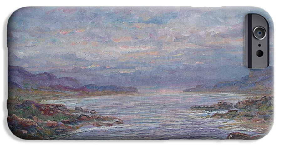 Painting IPhone 6 Case featuring the painting Quiet Bay. by Leonard Holland