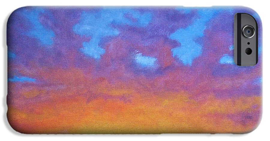 Landscape IPhone 6 Case featuring the painting Radiance by Brian Commerford