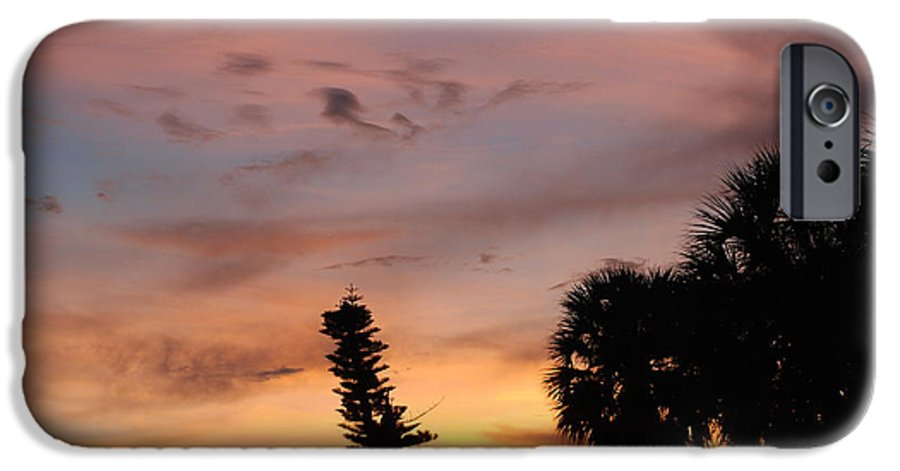 Sunset IPhone 6 Case featuring the photograph Rainbow Sunset by Rob Hans