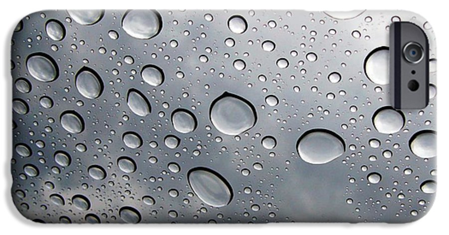 Rain IPhone 6 Case featuring the photograph Raindrops by Kenna Westerman